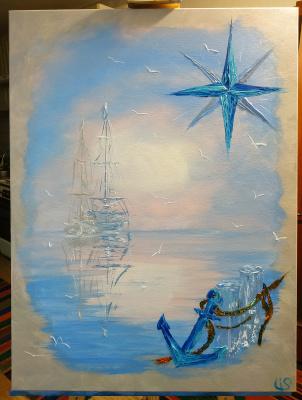 Irina Stukaneva. Boats. Hope.