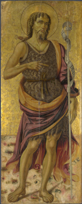 Бартоломео Капорали. Дева с младенцем и святыми, ангелами