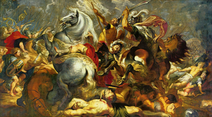Peter Paul Rubens. Victory and death in battle the Consul Decius Musa