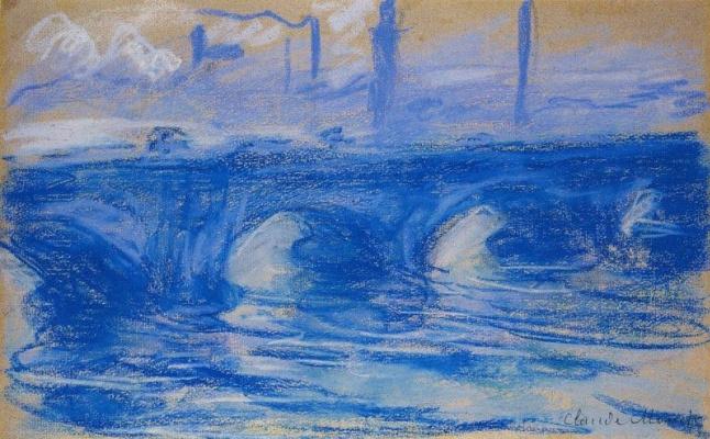 Claude Monet. Waterloo Bridge, London