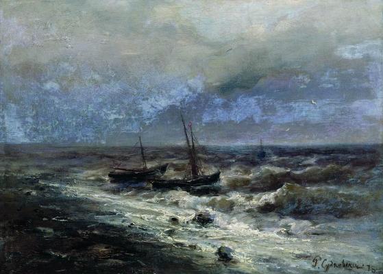 Rufin Gavriilovich Sudkovsky. The restless sea