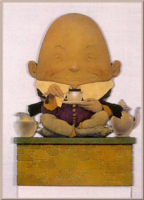 Maxfield Parrish. Humpty Dumpty