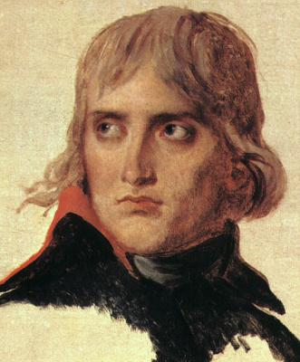 Жак-Луи Давид. Генерал Бонапарт, этюд