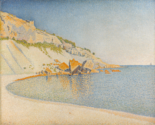 Paul Signac. Bay Lombard in the vicinity of Cassis