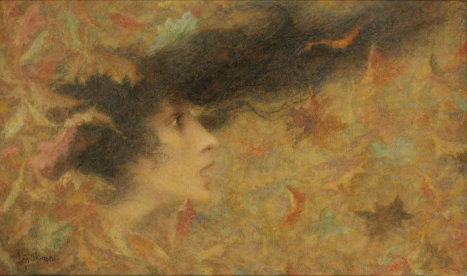 Lucien Levi-Durme. Gust of wind. 1896