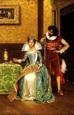 Adolf Alexander Lesrell. The attentive courtier