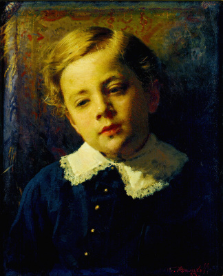 Ivan Nikolayevich Kramskoy. Portrait of Sergey Kramskoy, the artist's son