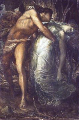 George Frederick Watts. Orpheus and Eurydice