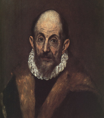 Domenico Theotokopoulos (El Greco). Self-Portrait Of El Greco