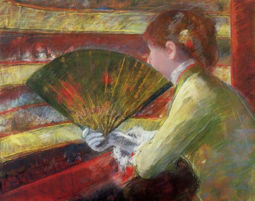 Mary Cassatt. In the box