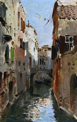 Исаак Ильич Левитан. Канал в Венеции