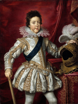 France The Pourbus The Younger. Portrait of Louis XIII