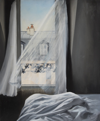 Margarita Andreevna Yakuncheva. Window to paris