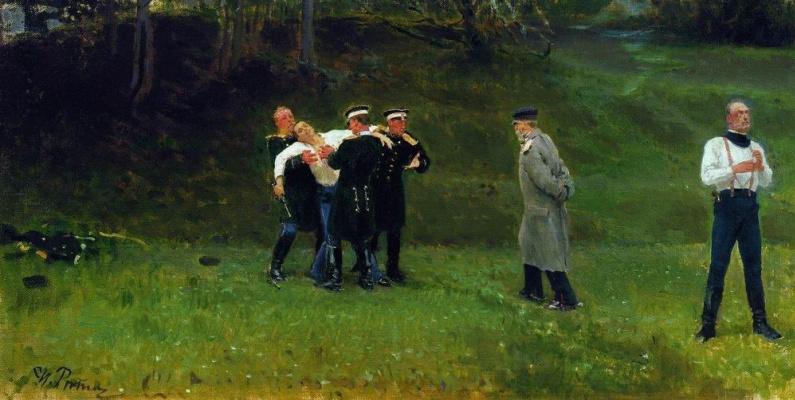 Ilya Efimovich Repin. Duel
