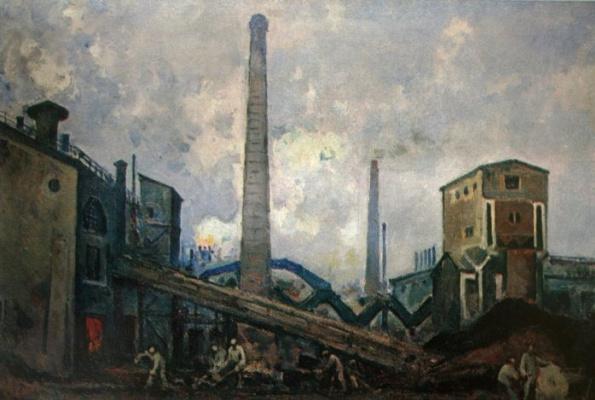 Alexander Vasilyevich Kuprin. Moscow metallovedeniye plant