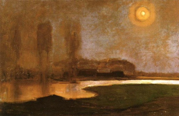 Piet Mondrian. Summer night