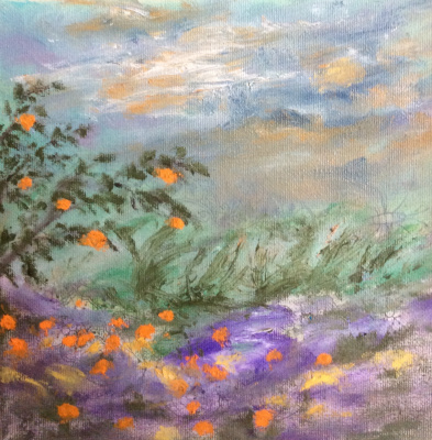 Rita Arkadievna Beckman. Wind and tangerines