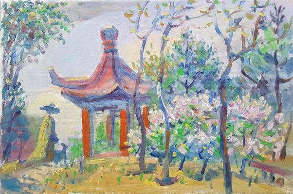 Daniil Litvinov. Сирень в Китае