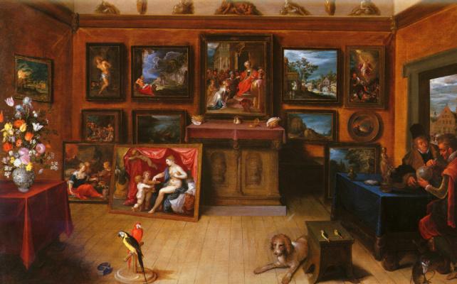 Франс Франкен Младший. Картинная галерея