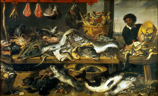 France Snyders. Fish shop