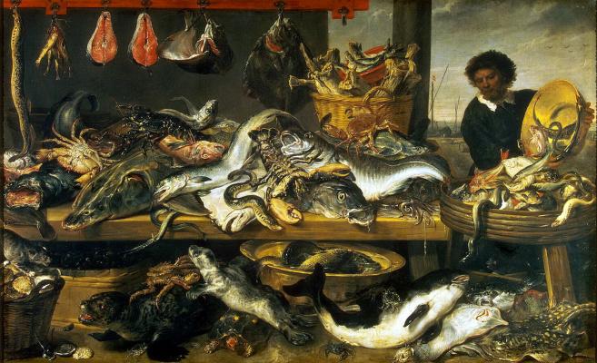 France Snyders. Fish shop