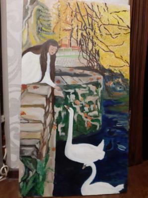 Dogadkina. Margot and swan