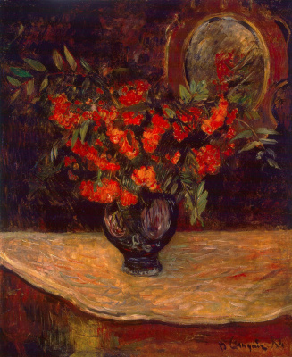 Paul Gauguin. Bouquet