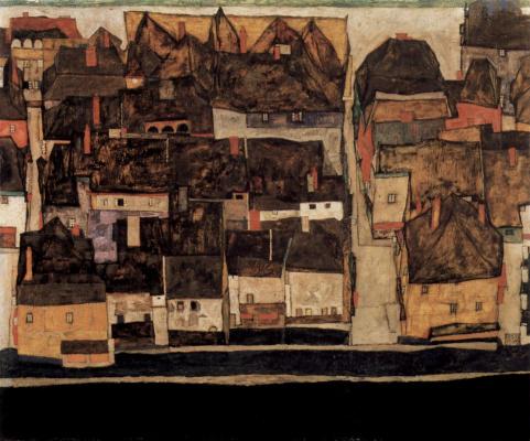 Egon Schiele. Krumau