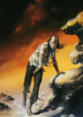 Boris Vallejo (Valeggio). Despair