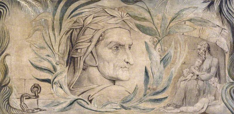 William Blake. Dante Alighieri