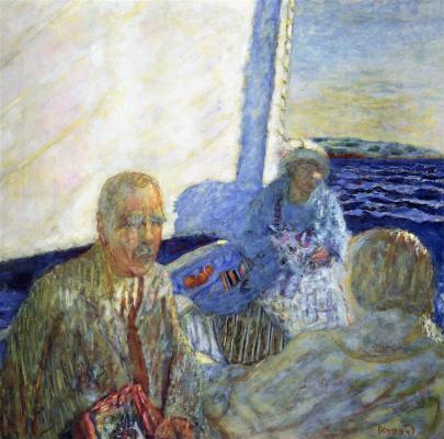 Pierre Bonnard. Sailing excursion