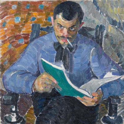 Александр Константинович Богомазов. Portrait of the artist Burdanov
