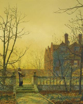 John Atkinson Grimshaw. Autumn gold