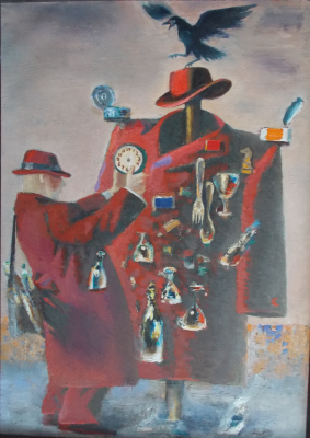 Anatoly Alekseevich Bolkhontsev. Scarecrow