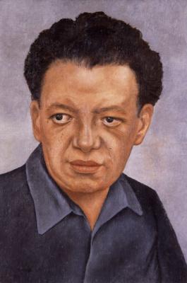 Frida Kahlo. Portrait Of Diego Rivera