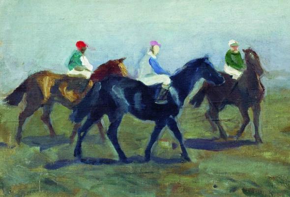 Alexey Stepanovich Stepanov. Jockeys