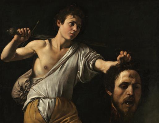 Michelangelo Merisi de Caravaggio. David with the head of Goliath