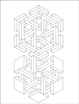 Коити Сато. Оптические иллюзии 28