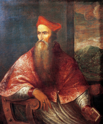 Тициан Вечеллио. Портрет кардинала Пьетро Бембо