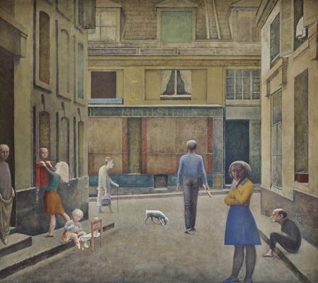 Balthus (Balthasar Klossovsky de Rola). Passage Du Commerce-Saint-André