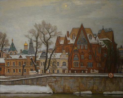 Alexey Nikolaevich Sukhovetsky. The snow goes away