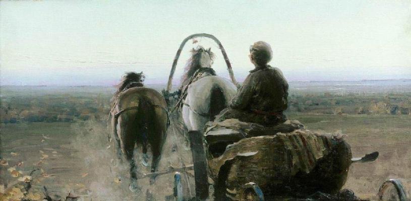 Abram Arkhipov. Way back