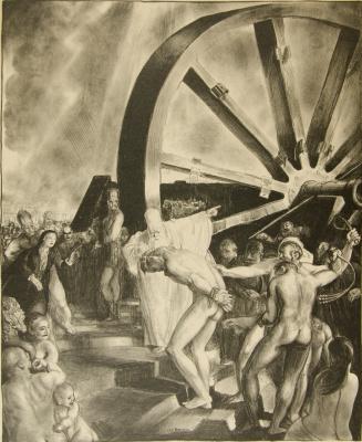 Джордж Уэсли Беллоуз. Христос у колеса