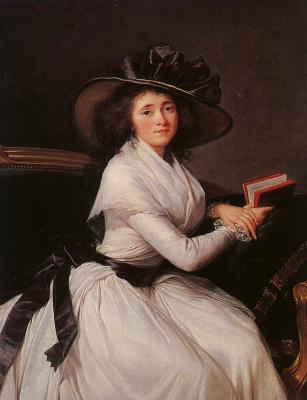 Элизабет Виже-Лебрен. Графиня Шотр