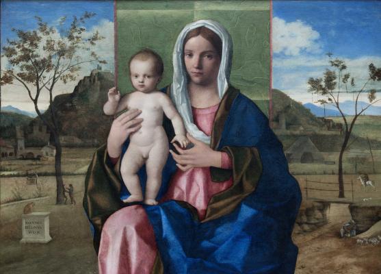Джованни Беллини. Мадонна с младенцем (Мадонна Брера)