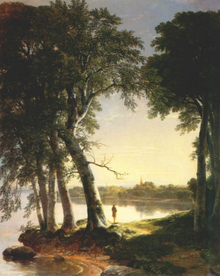 Asher Brown Durand. Early morning, cold spring