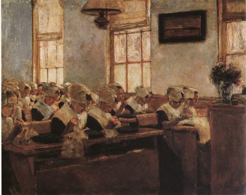Max Lieberman. Dutch school of sewing
