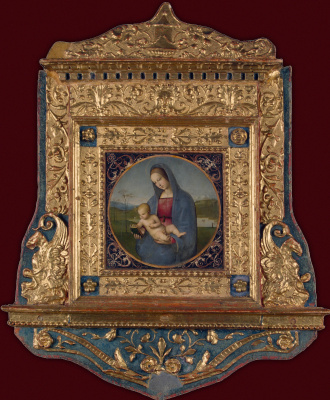 Raphael Santi. Madonna and child (Madonna Conestabile)