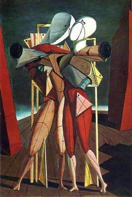Giorgio de Chirico. Hector and Andromache