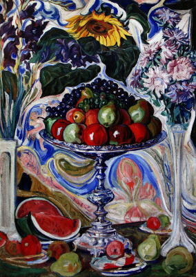Alexey (Oleksa) Novakovsky. The wealth of Ukraine. Flowers and fruits